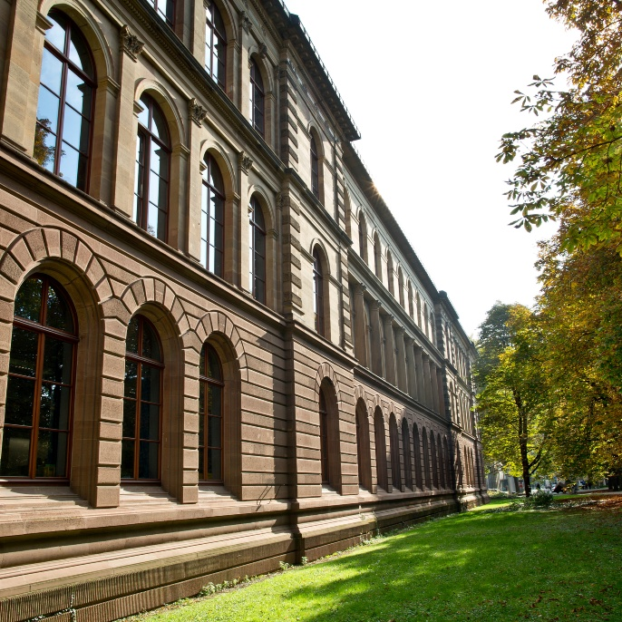 Campus Stadtmitte: The building Keplerstraße 7 which houses the Rectorate