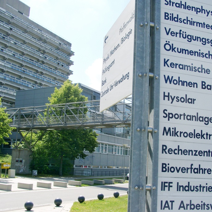 Orientation on Vaihingen Campus