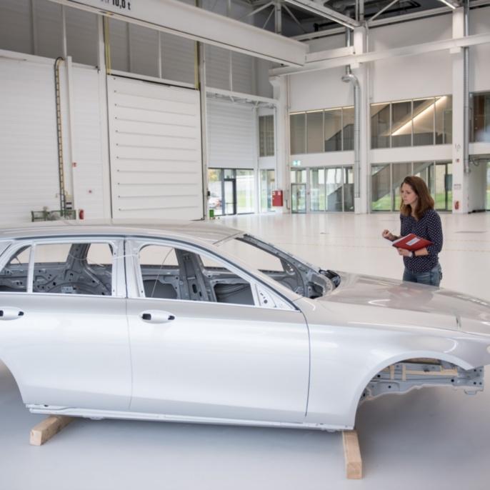 Sample automobile body