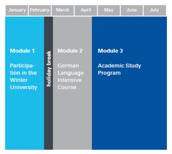 The modules of the ESSP Program