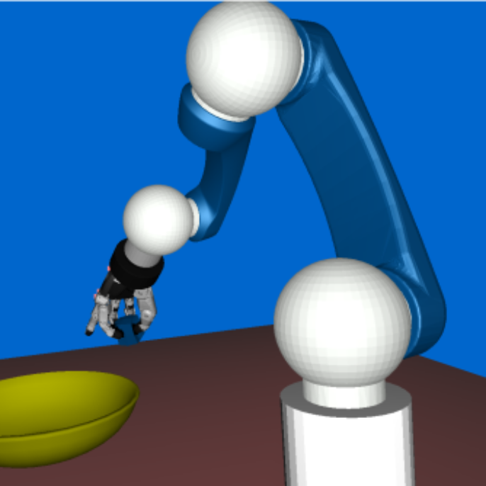 Real-time capable physics simulation with help of a robot.