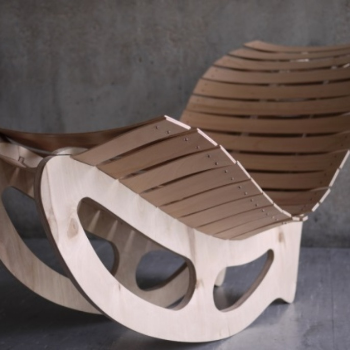 Chair design: An example for bio-based materials and material cycles in architecture.
