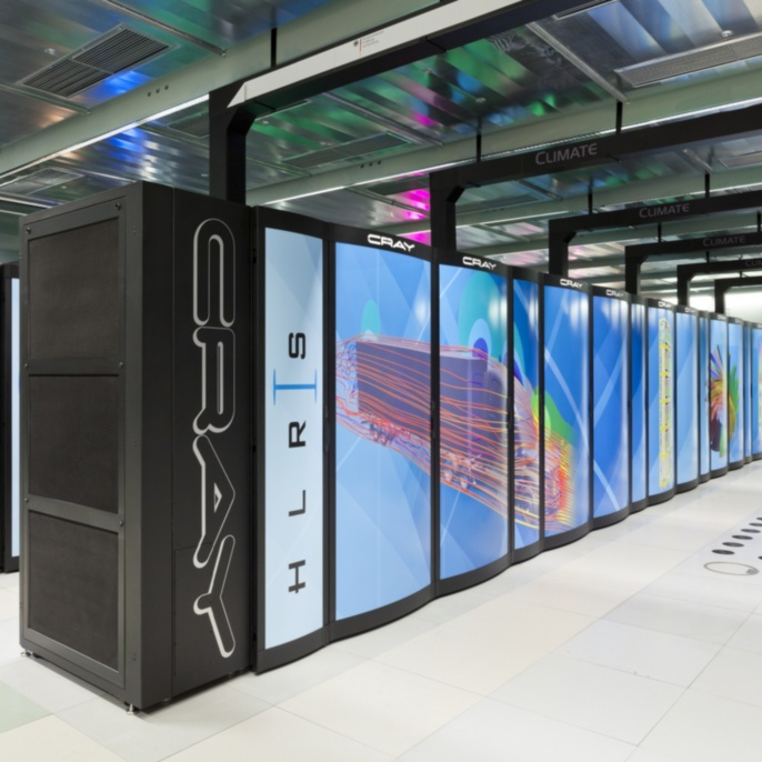 Supercomputer Hazel Hen, a Cray XC40-system, is at the heart of the high performance computing (HPC) system infrastructure of the HLRS. The HLRS supercomputer, which was taken into operation in October 2015, is based on the Intel® Haswell Processor and the Cray Aries network and is designed for sustained application performance and high scalability.