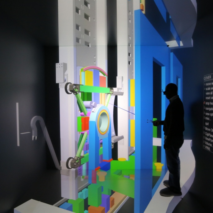 Interactive simulation and visualization of a thyssenkrupp MULTI® elevator. ThyssenKrupp Elevator Innovation GmbH