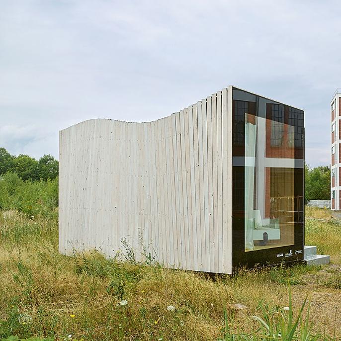 Timber Prototype House Holzrahmen