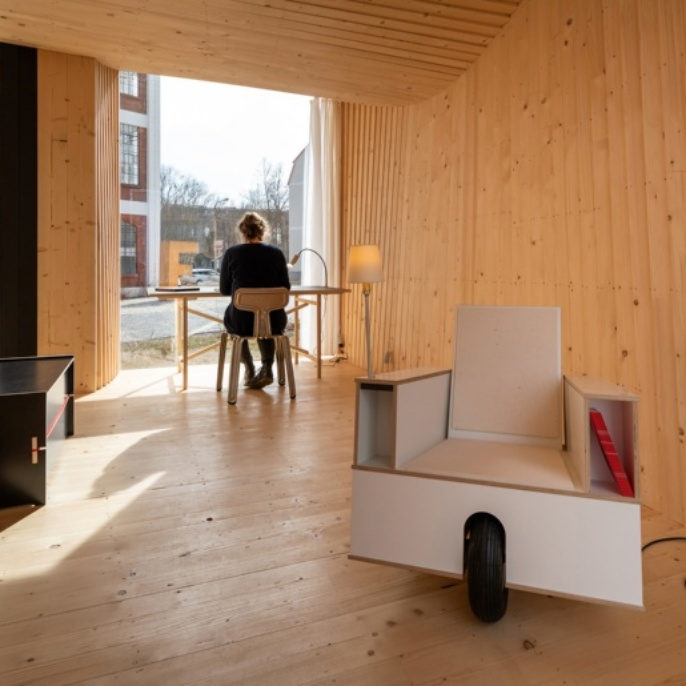Timber Prototype House Innenansicht