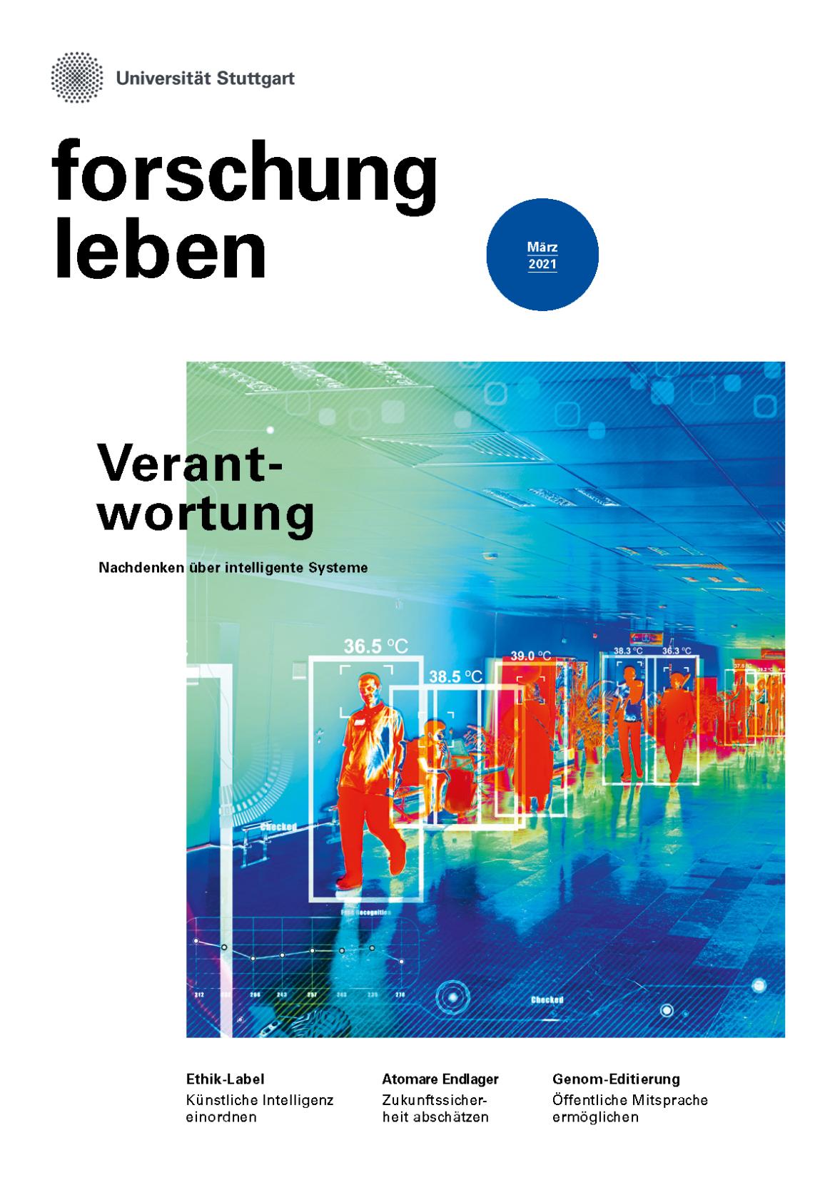 Cover der aktuellen Ausgabe zum Thema Verantwortung
