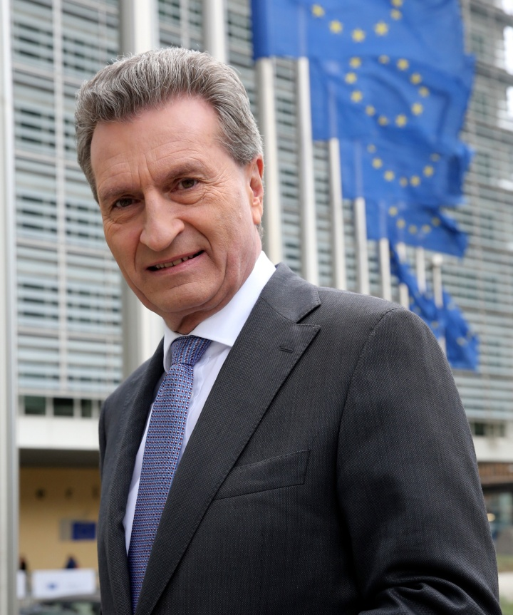 Günther Oettinger (c) European Commission/François Walschaerts