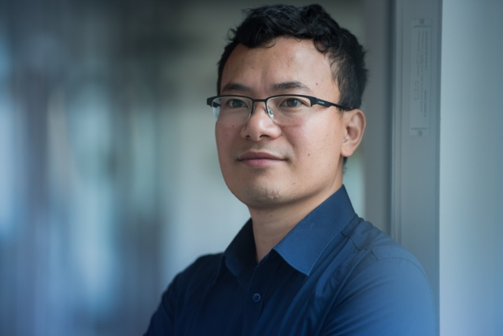 Dr. Quoc Huy Do, postdoc at the University of Stuttgart's Institute of Information Security (SEC).  (c) University of Stuttgart/Max Kovalenko