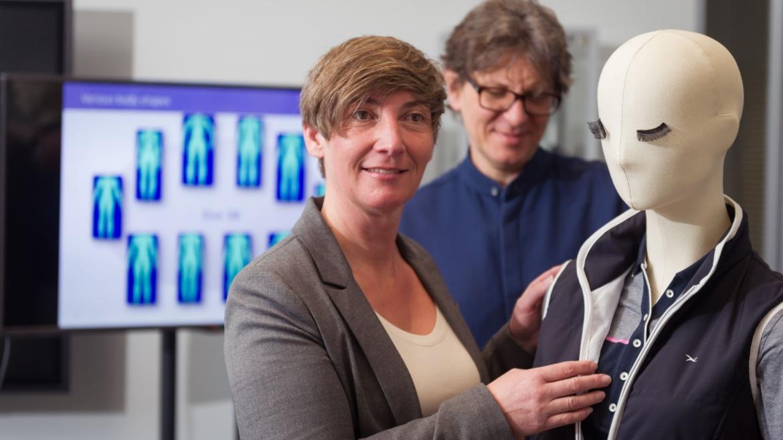 Prof. Meike Tilebein und Thomas Fischer (c) Universität Stuttgart/M. Kovalenko