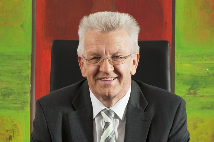 Winfried Kretschmann (c) Ministry of the State of Baden-Württemberg