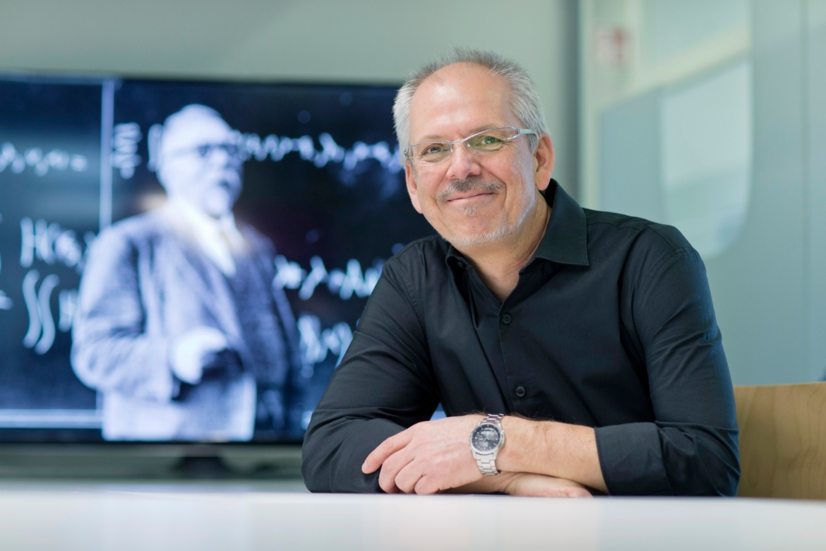Prof. Frank Allgöwer, head of the Institute for Systems Theory and Control Engineering at the University of Stuttgart and one of the co-founders of the Cyber Valley