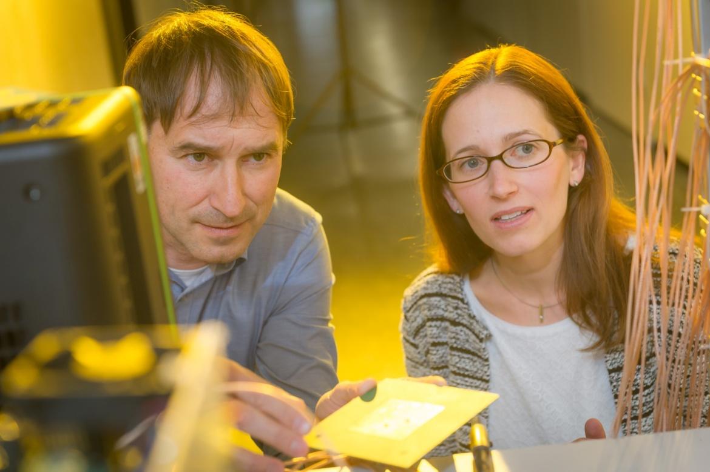Forscher am INT (c) Universität Stuttgart/M. Kovalenko