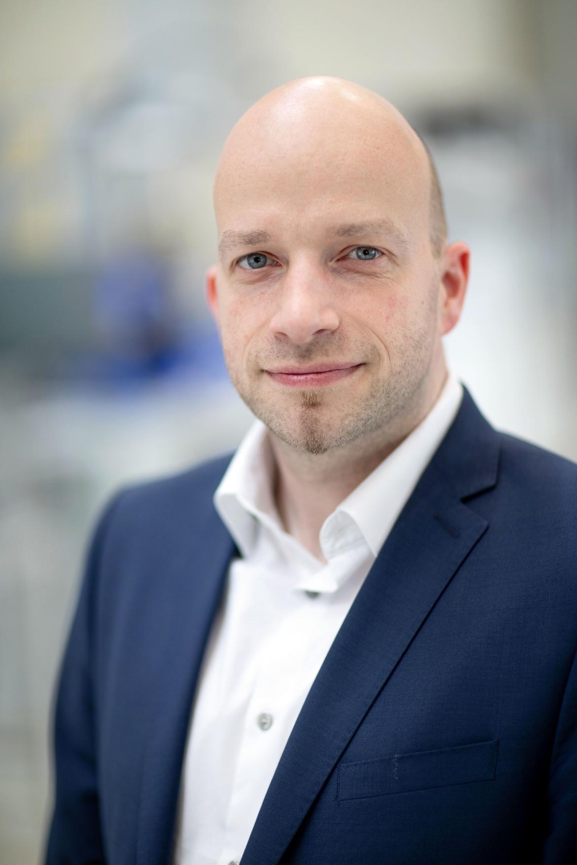Profilepicture Prof. Marco Huber (c) University of Stuttgart/U. Regenscheit