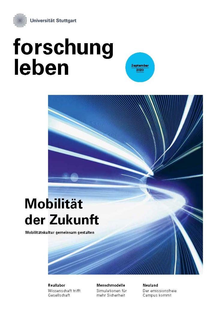 Cover der Ausgabe September 2020