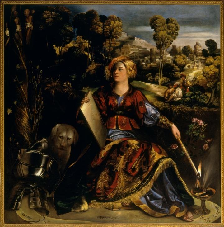 Dosso Dossi, Giovanni Luteri: Circe, die Zauberin, ca. 1520 (c) Alinari Archives / Magliani