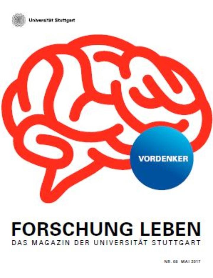 Cover von Forschung Leben 08/2017