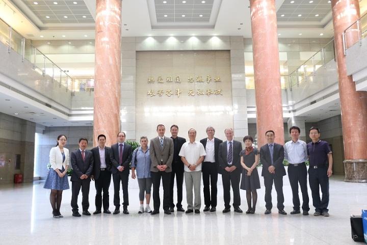 Delegationsreise im Rahmen des DAAD-Netzwerks Geodäsie nach Wuhan.  (c)