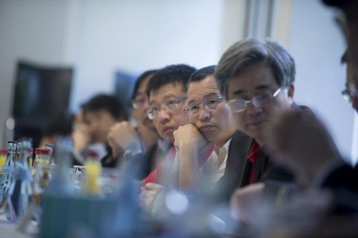 Besuch einer chinesischen Delegation anlässlich der Unterzeichnung des Double-Masterabkommens mit der Tongji University, China. (c) Martin Stollberg