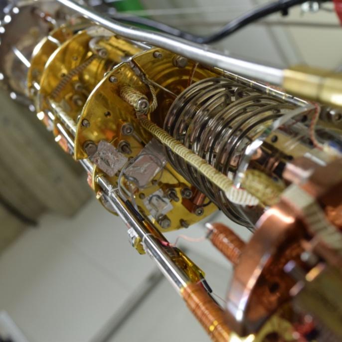Quantenflüssigkeit SpinLiquid2 Fridge