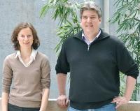 Jennifer Niessner und Oliver Roehrle.                                  (Foto: SimTech)