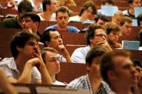 Fleiß und Engagement werden belohnt: nur die besten Studierenden erhalten das Deutschlandstipendium. (Foto: Eppler)