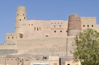 Ein Exkursionsziel des Lehrstuhls für Bauphysik: Die Festung Hisn Tamah in der Oase Bahla, seit 1987 Weltkulturerbe der UNESCO.         (Foto: LfP)