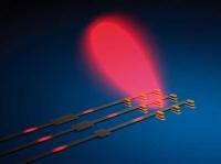 Optische Version eines phasengesteuerten Antennenfeldes.                           (Foto: Institut)