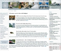 Neue Universitäts-Homepage