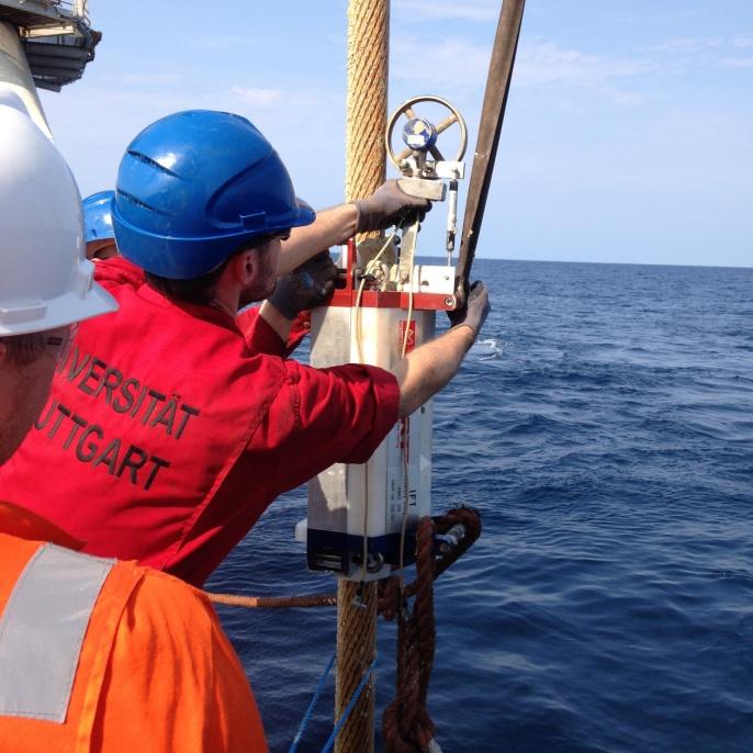 Magnetinduktive Seilprüfung im Offshore Bereich <br />