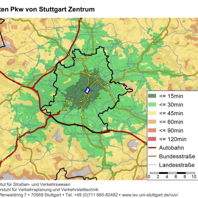 Landkarte: Verkehrszustand auf Deutschlands Autobahnen.