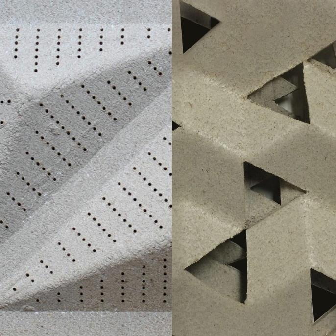 Bio-acoustic Panels <br />Image: Hanaa Dahy<br />