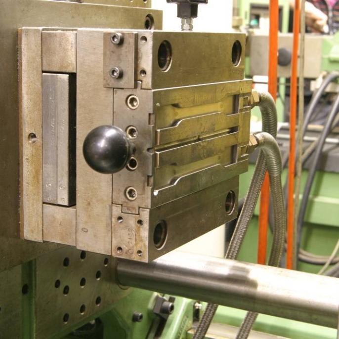 Injection moulding tool. <br />