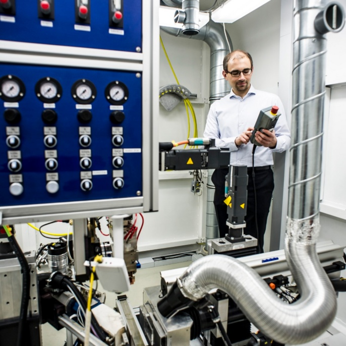High-speed x-ray video facility <br />Image: IFSW<br />