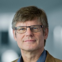 This picture shows Prof. Christian Holm