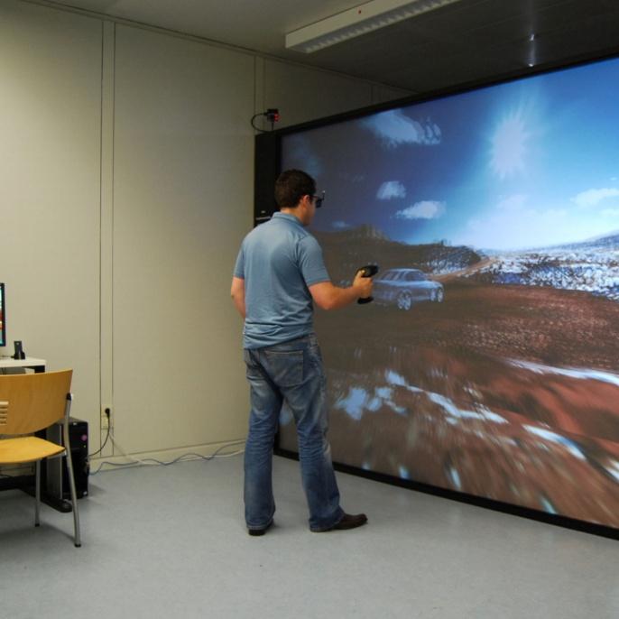 Virtual Reality-Labor. <br />