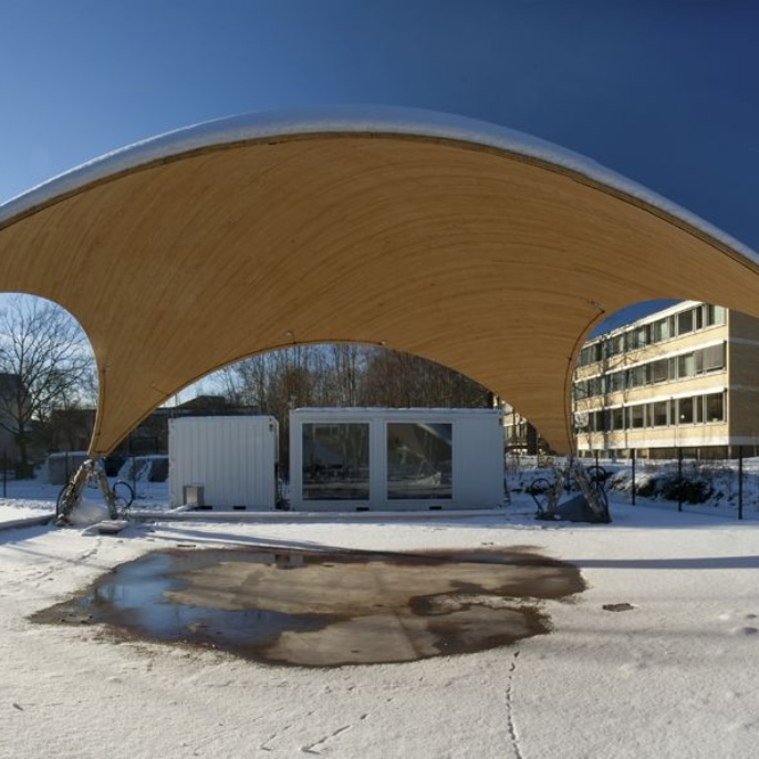Smartshell: snow-covered panorama.  <br />
