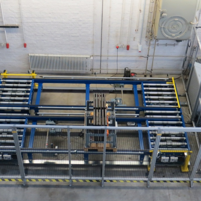 Test rig at the Institute of Mechanical Handling and Logistics (IFT).  <br />
