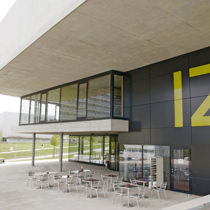 Das Internationale Zentrum am Campus Vaihingen