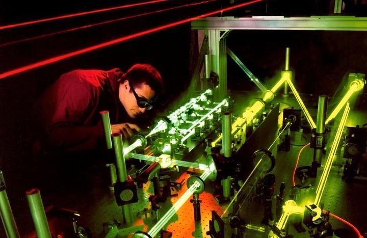 Laserexperiment (c)