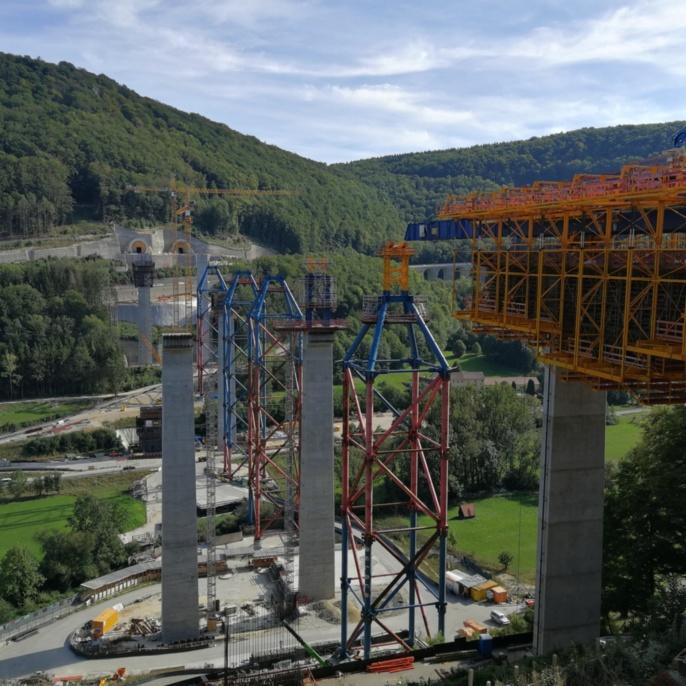 2 - Baustelle der Filstalbrücke