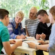 Dieses Bild zeigt Katja von Berg in Beratung für die Zentrale Studienberatung