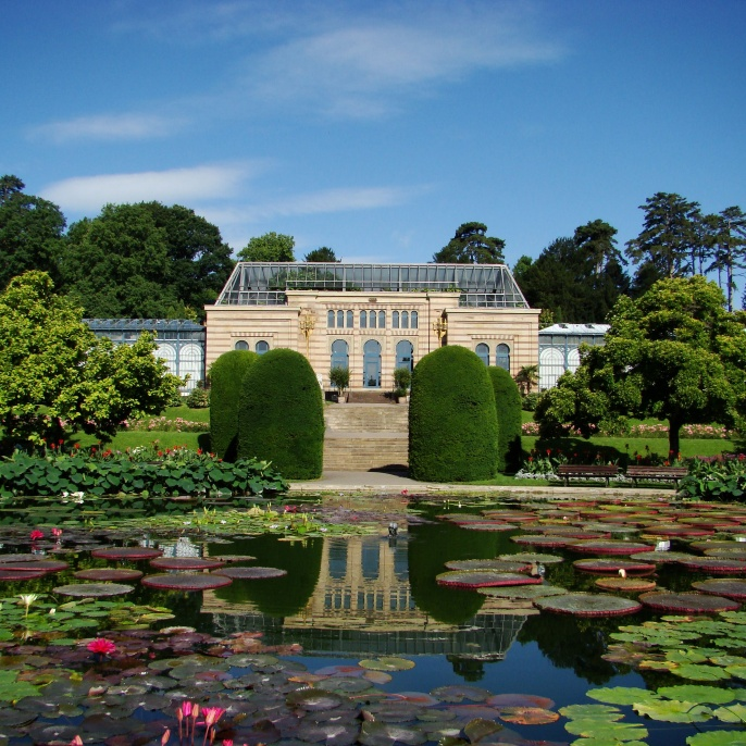 The Wilhelma is Stuttgart's zoological and botanical garden.