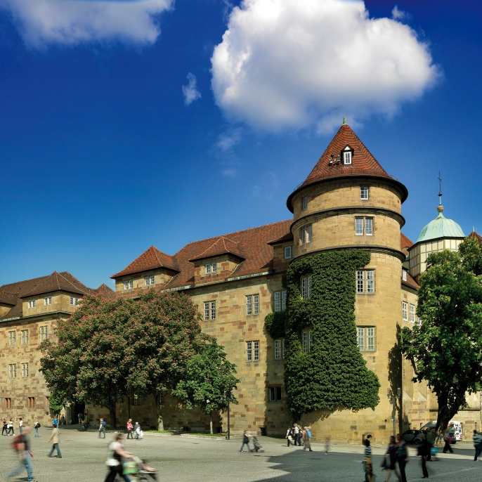 The old castle in Stuttgart