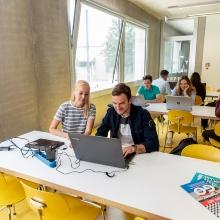 Lernraum auf dem Campus Vaihingen