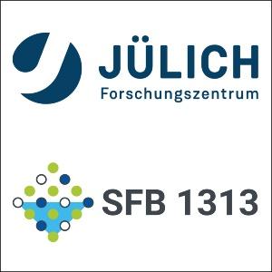 Logos FZ Jülich und SFB1313