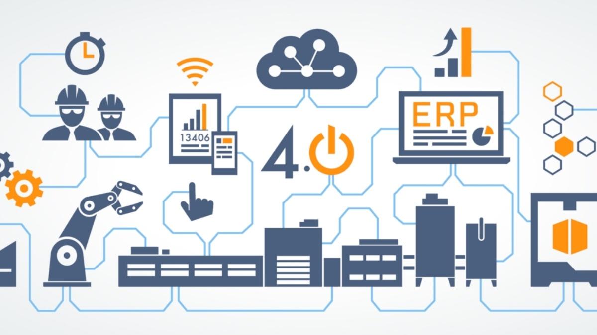 Vernetzte und intelligente Produktion für eine wettbewerbsfähige Wertschöpfungskette  Foto: Adobe Stock