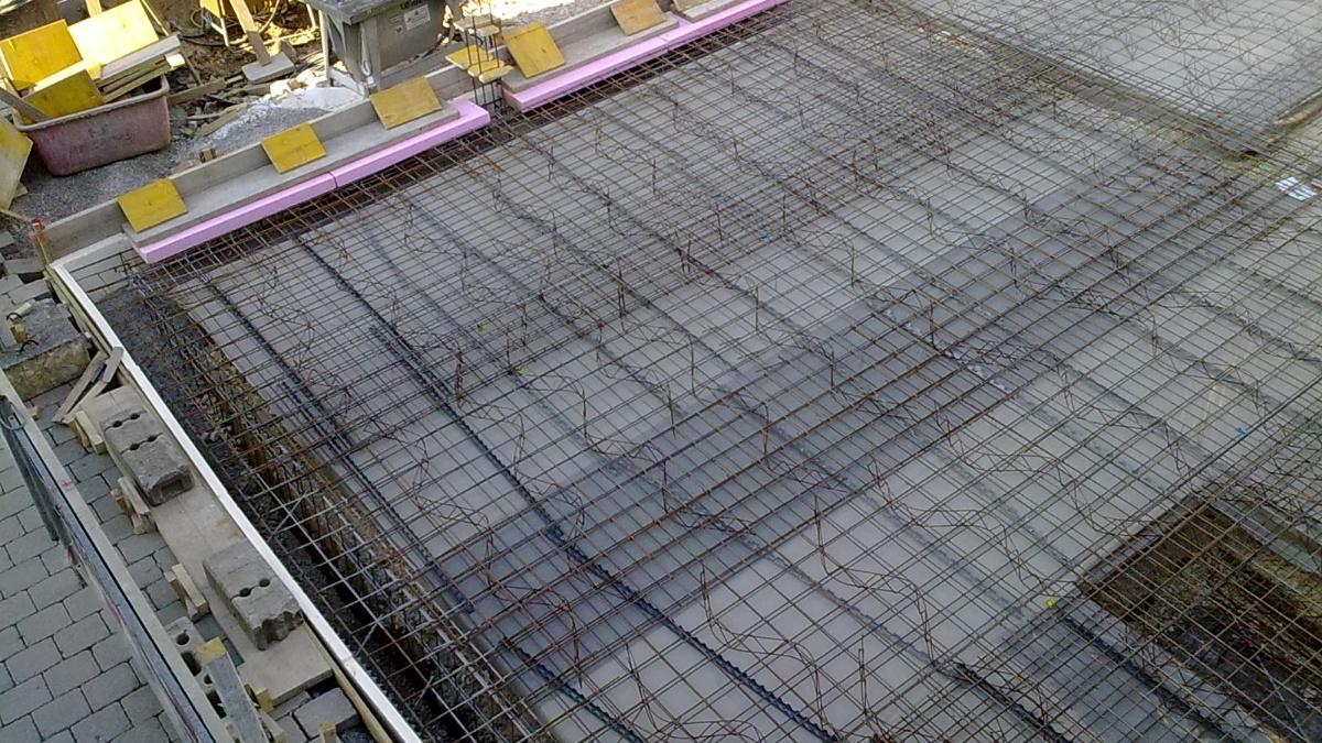 Baustelle  Foto: IWB (Institut für Werkstoffe im Bauwesen)