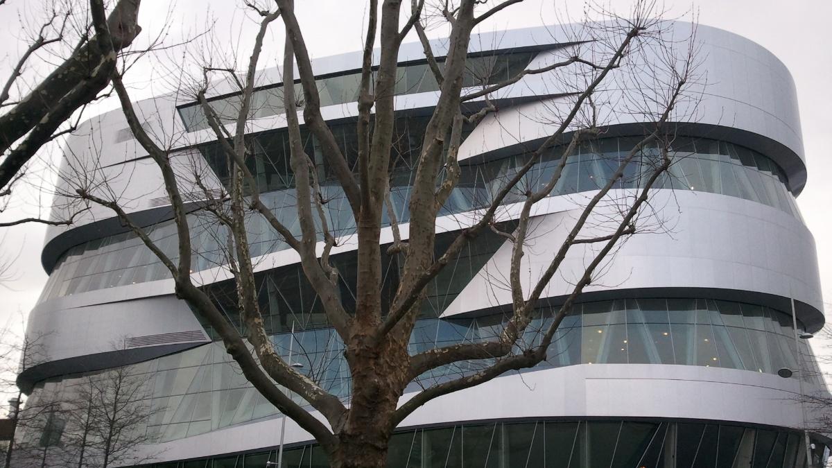 Daimlermuseum  Foto: IWB (Institut für Werkstoffe im Bauwesen)