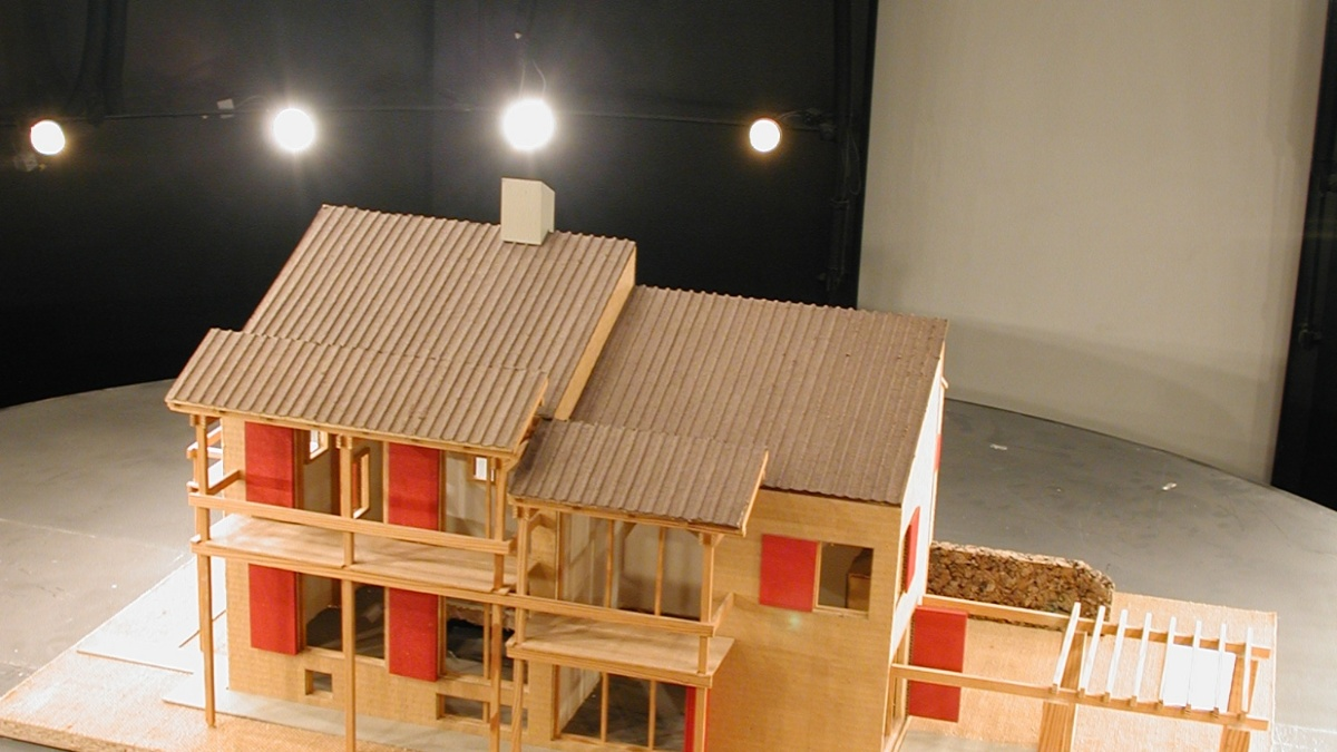 Lichtsimulation  Foto: LBP (Lehrstuhl für Bauphysik)